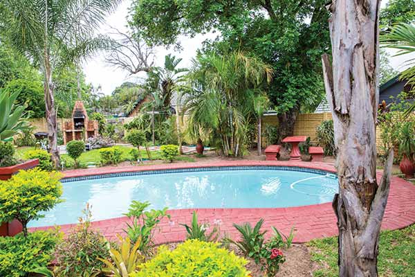 Ekhaya-Guest-House-Pool-And-Braai-Area